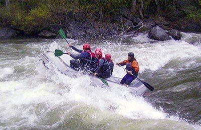 Kayak/Rafting/Plongée